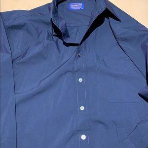 Men's Pendleton Sport Shirt (Blue)